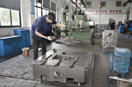 压铸模具模框加工