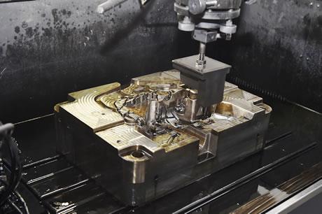 压铸模具电脉冲加工