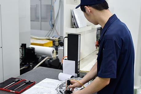 铝合金精密压铸件-线上抽检