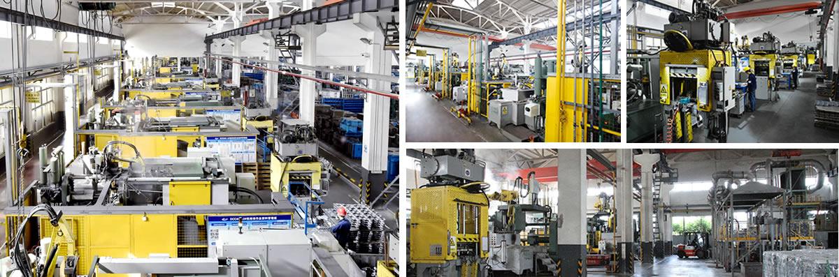 压铸生产车间
