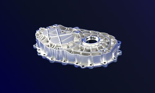 新能源汽车减速器端盖-电机减速器后壳体-新能源汽车铝压铸
