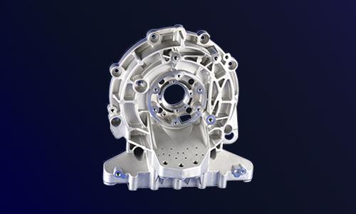 新能源汽车结构压铸件-电动汽车减速器端盖支架壳体-变速器零件