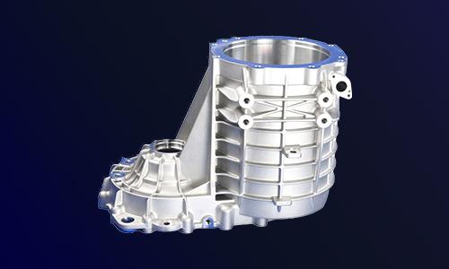 新能源水冷电机壳体-电动汽车水冷电机外壳-新能源驱动电机壳