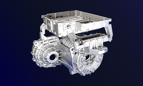 414-电动汽车压铸件