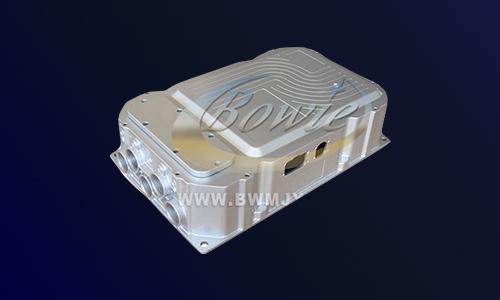 新能源电动汽车四合一集成控制器○一体化多合一控制器-铝压铸件
