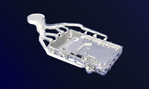 新能源汽车电机电控系统○水冷控制器壳体-铸铝外壳