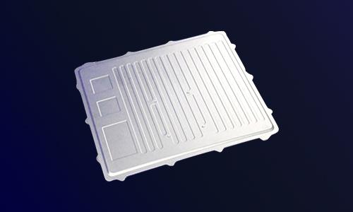 电动汽车铝压铸件-水冷盖板-新能源汽车零部件压铸