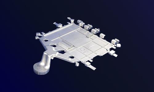 电动车水冷控制器|一体式水冷控制器盖板-汽车电机铝壳生产厂家