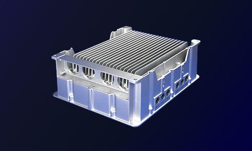 新能源汽车驱动电机控制◎三合一控制器外壳-电动汽车压铸件