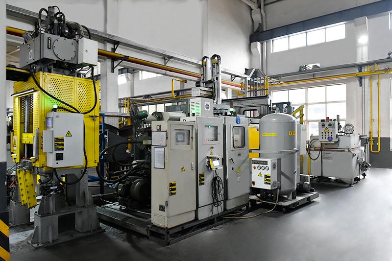 压铸件加工厂-压铸模具抽真空设备