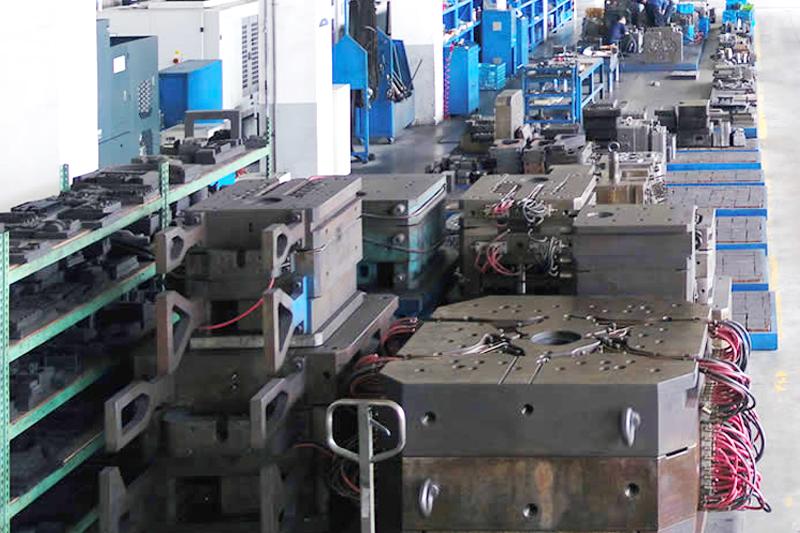 铝压铸模具-模具存放区