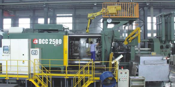 铸铝机箱生产设备