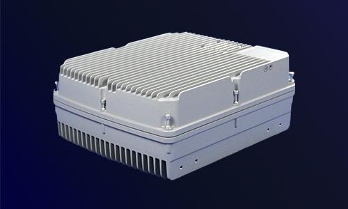 铝合金压铸机箱(侧面)
