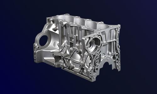 铝合金发动机缸体压铸件