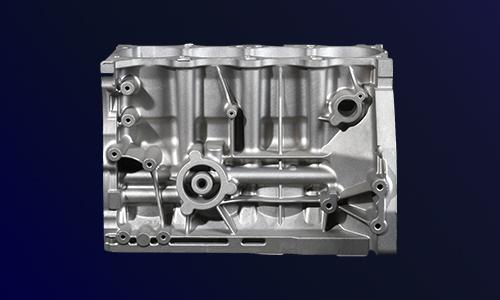 汽车缸体压铸