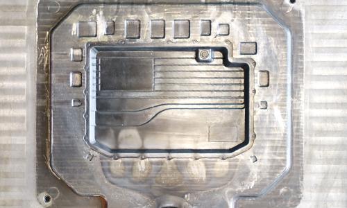 通信机箱压铸铝模具