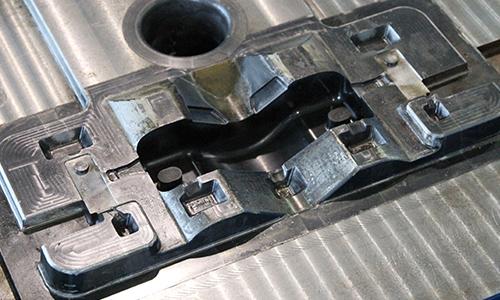 汽车灯散热器模具