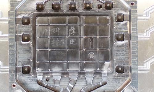 电动汽车控制器外壳模具