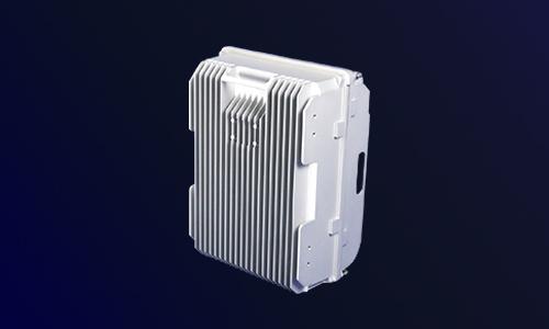 铝合金压铸机箱(坚侧面)