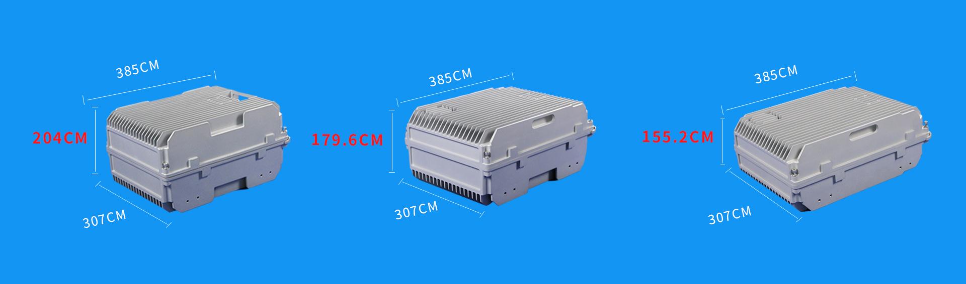 博威LET铸铝通信压铸机箱系列机箱尺寸