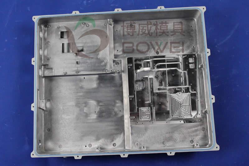 射频拉远机箱精加工-铣面-工丝