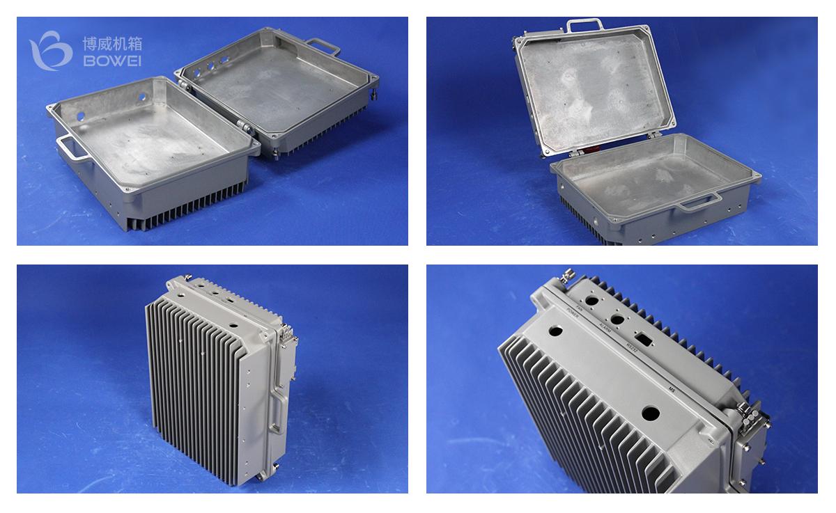 铝合金壳体散热器-大功率散热机箱