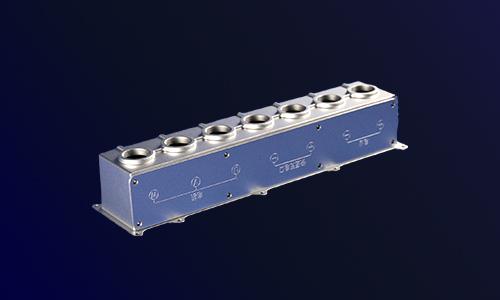 新能源电机控制器○纯电动大巴五合一控制器-精密铝合金压铸
