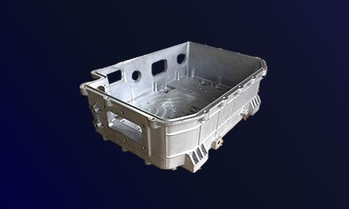 电动汽车三合一控制器外壳