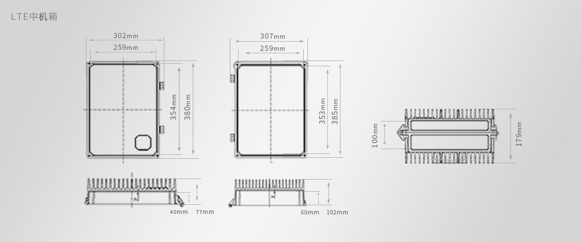 IP67防水设计机箱