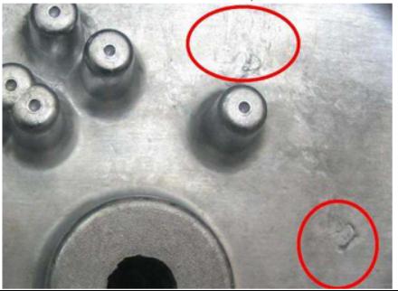 冷隔水紋的解決方法