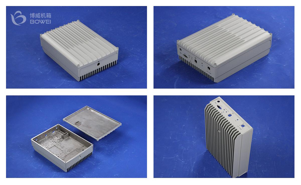 铝合金外壳压铸机箱箱体细节图片