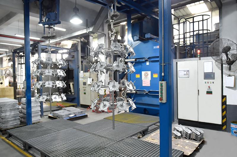 压铸件的生产工艺-铸件抛丸