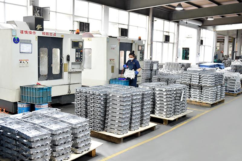 压铸铝表面处理-铸件预处理