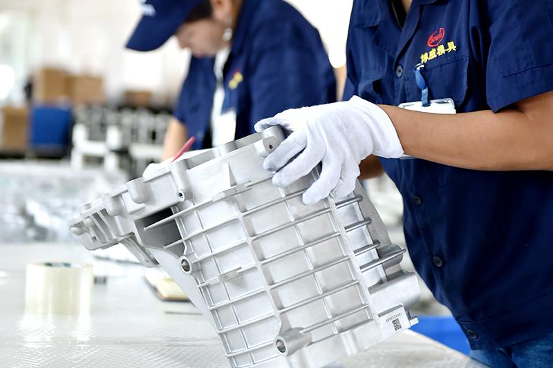 铝压铸件加工厂-铝压铸件全检线