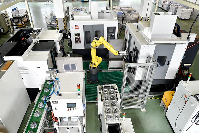 自动化工业机器人-五轴机器人自动化精加工