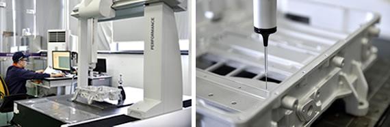 压铸生产制造工艺流程-BLANK TEST